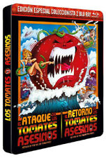 Attack of the Killer Tomatoes / Return of Killer Tomatoes NEW Blu-Ray 2-Disc Set