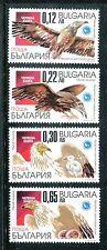 Bulgaria 4185-4188 MNH. Birds: Egyptian Vulture 2001. x16558
