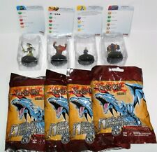HEROCLIX YU-GI-OH SERIES 1 LOT OF (4) CARDS ARE DAMAGED #A JUST AS PICTURED