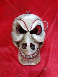Wooden Hand Made Skull Mask