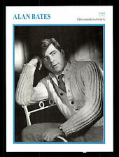 Alan Bates Star Portrait carta - 80er anni Top + G 17055