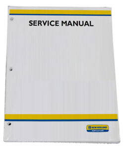 New Holland TD80D,TD95D Tractor Service Repair Manual