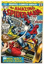 Amazing Spider-Man #125 F, Man-Wolf Origin, Andru begins, Marvel Comics 1973