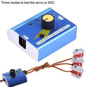 ESC Servo Tester Electronic Speed Controller Checker Master for RC Car