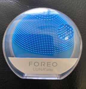 BNIB Mini Foreo Luna Play Face Facial Cleanser Brush Aquamarine