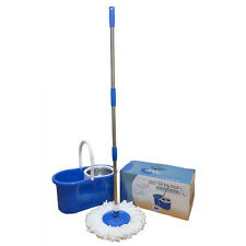Stainless Steel 360 Easy Spin Mop & Bucket with Wringer, Floor Cleaning