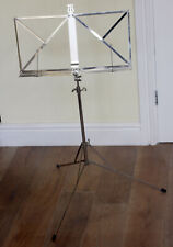 VINTAGE HEAVY DUTY STEEL EXPANDABLE MUSIC STAND