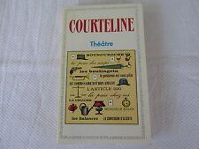 Courteline, Georges : Théatre : Boubouroche, La peur des coups, Monsieur Badin