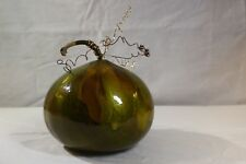 Handcrafted enamel gourd home decor Table setting interior design art display