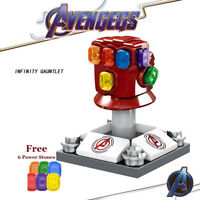 Avengers Endgame Thanos Thor Iron Man Infinity Gauntlet Marvel Building Blocks
