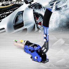 Hydraulic Handbrake Drift Racing Brake Lever Universal Aluminum Anti-skid Blue