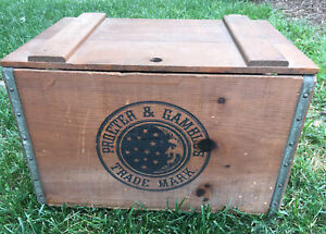 Vintage Procter & Gamble's Ivory Soap Wooden Crate Box