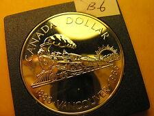 RARE 1986 CANADA SILVER DOLLAR HIGH GRADE ID#B6