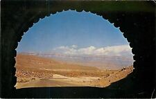 Big Bend Nat'l Park Texas~Boquillas Canyon Road Tunnel~View Inside~1965 Postcard