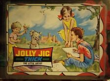 Vintage 1950s Jolly Jig The Little Artist 63 Thick pieces Complete Rare