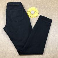 Old Navy Womens Rockstar Skinny Jeans Size 10 Stretch Black Denim as708