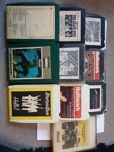 Bundle Job Lot 8 Track Cartridges Cassettes Tapes X 10 beatles, beach boys etc