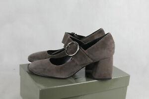 Otto Kern Schuhe taupe,Pumps Ziegenvelour,Damen Gr.39 (6),neu,LP109€