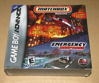 Matchbox Missions 2 Game Pack (Game Boy Advance) Brand New / Fast Shipping