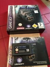 KING KONG BOXED NINTENDO GAME BOY ADVANCE GBA Nr Mint COMPLETE