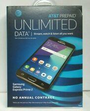 New AT&T PREPAID Samsung Galaxy Express Prime 2,16GB Prepaid Smartphone