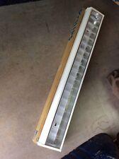 2 X Philips Rasterleuchte Deckenleuchte Bürolampe f.Leuchtstoffröhre TCS 198