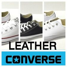 CONVERSE LEATHER LOW TOP OX CHUCK TAYLOR ALL STAR