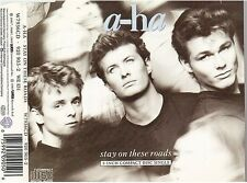 """A-HA stay on these roads CD SINGLE 8cm 3"""" inch"""