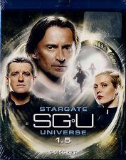 NEW  3BLU-RAY set //  STARGATE UNIVERSE 1.5 // Robert Carlyle,  Louis Ferreira,