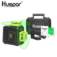 8 Lines 360 Cross Line Laser Level Self leveling Professional+Portable Hard Case