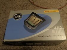 Palm M100 Complete In Box With Accessories Nice