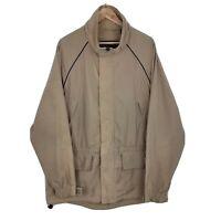 Mens Timberland Weathergear Beige Waterproof Outdoor Jacket Coat Size XL