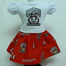 Ohio State University Outfit For 18 Inch Doll