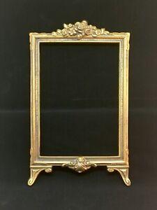 Antique Edwardian Cast Iron Picture Frame