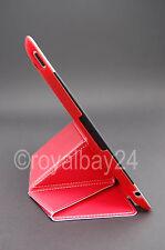iPad 2/3/4 Retina das neue Smart-Cover softtouch Rückseite rot Voll-Cover vegan