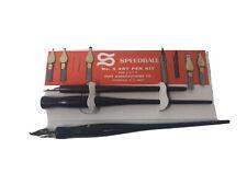 Vintage Speedball No. 5 Artist Pen Set - Fountain Pens/Art Set Calligraphy/Draw