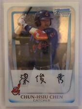 Chun-Hsiu Chen Cleveland Indians 2011 Bowman Prospects Chrome BCP26 (i154)
