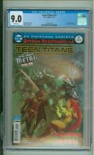 Teen Titans #12  9.0 CGC  1st Full App Of The Batman Who Laughs 2017
