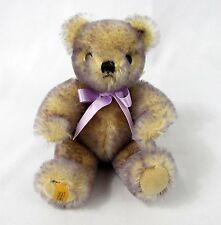 """Merrythought Magnet Mohair Jointed Teddy Bear 7"""" All Tags Le 184/500 - Clean!"""