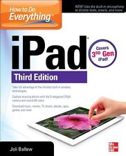 How to Do Everything: iPad, 3rd Edition: covers 3r