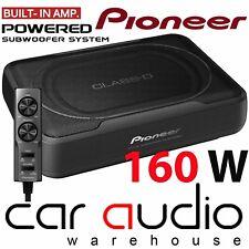 Pioneer ts-wx130da 160 W Active UNDERSEAT car Sub Box Caisson De Basses & amplifier