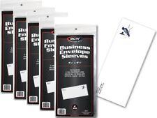 5 Pack of 500 Sleeves BCW Business Envelope #10 Sleeves  4 1/4 X 9 5/8 (#CS59)