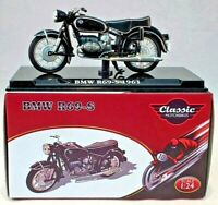 ATLAS EDITIONS 1:24 - REF.NO. KT07 BMW R69-5 MOTOR CYCLE 1961