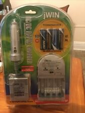 Jwin Ac/Dc Rapid Charger with Rechargeable Aa Batteries
