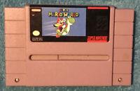 Super Mario World (Super Nintendo Entertainment System SNES, 1992) Game Only
