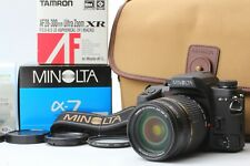 【N MINT in BOX】 Minolta Alpha 7 α-7 a-7 w/ 28-300mm tamron zoom lens JAPAN 1138