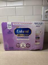 Enfamil NeuroPro Gentlease Infant Formula Ready to Use 24 Bottles 2 Fluid Ounces
