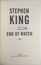 """STEPHEN KING SIGNED """"END OF WATCH"""" 1st Edition, 1st Print Bill Hodges Trilogy"""