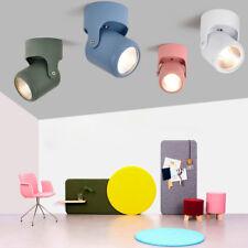Macaron 5W/7W/10W LED COB Ceiling Light Picture Lamp Adjustable Spotlight Store