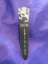 marque page lyon noblesse de la soie (cl00)